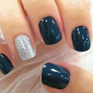 Azul grisáceo
