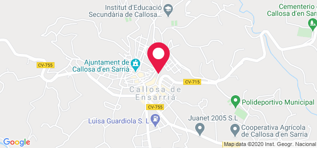 Calle Jaume Roig nº2, 03510, Callosa d'en Sabría