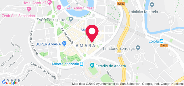 Plaza Ignacio Mercader, 9 bajo, 20011, Donostia San Sebastián