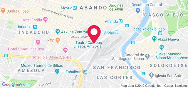 Hurtado Amézaga, 1. Entreplanta B., 48008, Bilbao