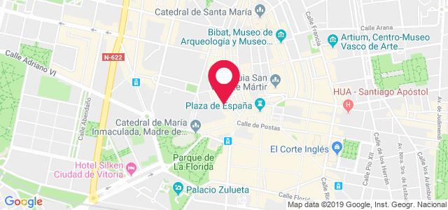 C/ Diputación 19, 1º, 01001, Vitoria