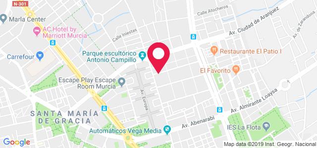 Av. Ntra. Sra. de Atocha, 17, 30007, Murcia