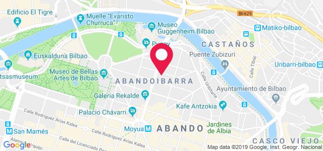 Barraincúa Kalea, 7,  Bilbo, 48009, Bilbao