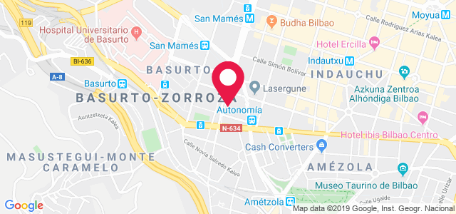 Calle María Díaz de Haro, 49, 48010, Bilbao