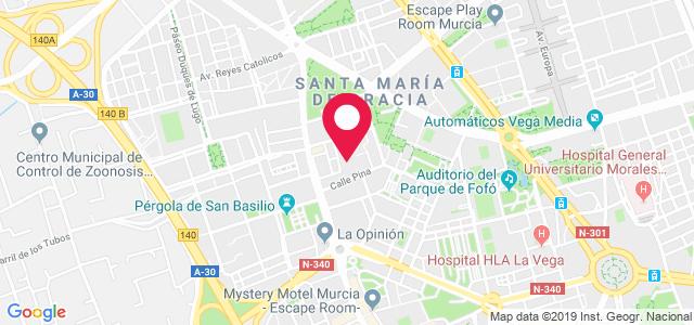 Calle Ortega y Gasset, 1 bajo, 30009, Murcia