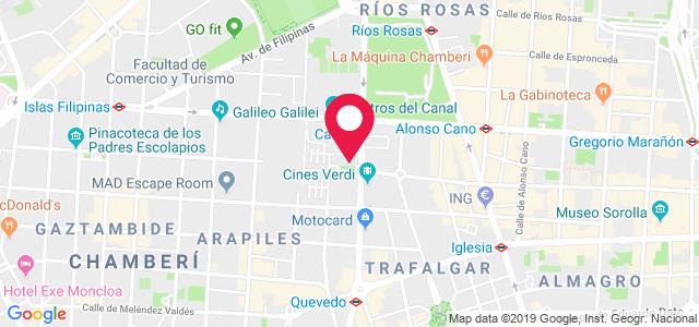 Calle General Álvarez de Castro, 36 bajo izquierda, 28010, Madrid