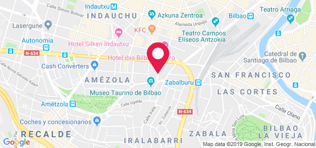 Calle San Nicolás, 2, 48003, Bilbao