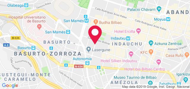 Calle María Diaz de Haro, 54, 48010, Bilbao