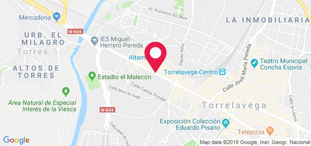 Calle Julio Hauzeur, 2, 39300, Torrelavega
