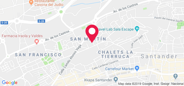 Calle del Monte, 10, 39006, Santander