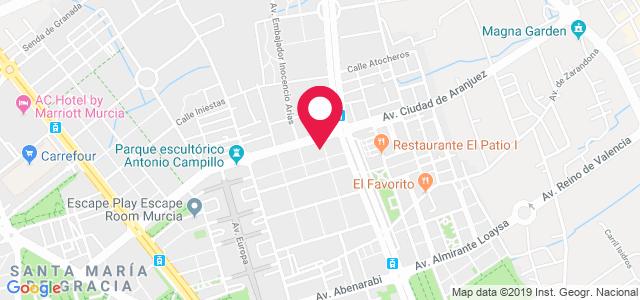 Paseo Fernandez Caballero, 9, 30007, Murcia