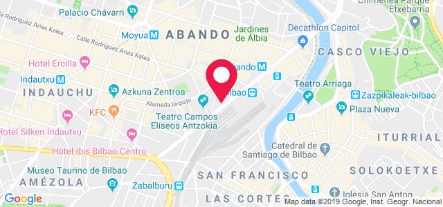 Calle Hurtado de Amézaga, 18, 48008, Bilbao