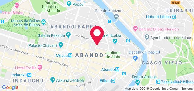 Calle Ibañez de Bilbao, 8, 48001, Bilbao