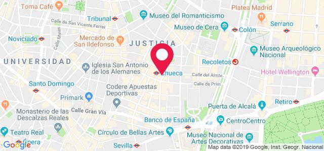 Calle Almirante, 6, 28004, Madrid
