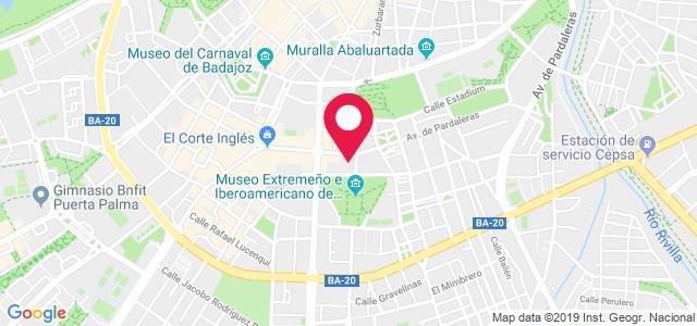 Avenida Pardaleras, 6, 06003, Badajoz