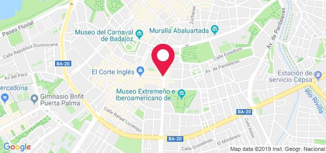 Avenida Pardaleras, 1, 06003, Badajoz