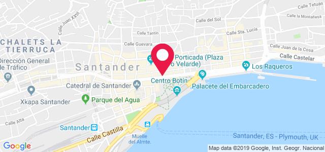 Plaza Matías Montero, 1, 39004, Santander