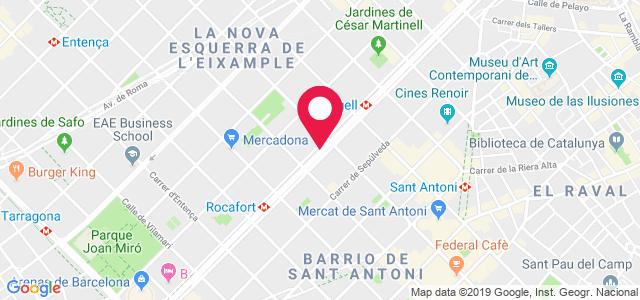 Carrer de Sepúlveda, 125, 08015, Barcelona