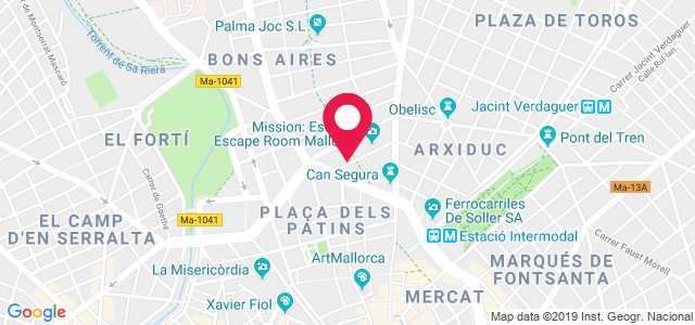 Calle 31 de Diciembre, 12 (Policlínico Quirúrgico), 07004, Palma de Mallorca