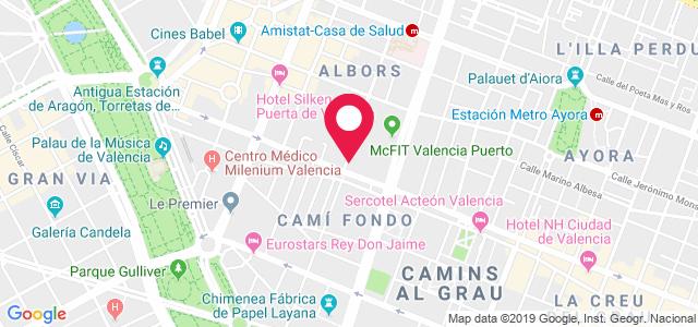 Calle Carrer del Dr Manuel Candela, 10 (Clínica Levante), 46021, Valencia