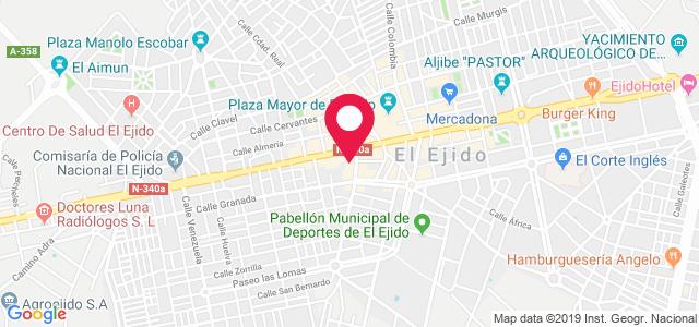 Calle GLadiolos, 21 (Centro Médico Granada), 04700, El Ejido