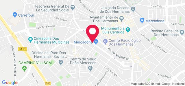Calle Calderón de la Barca, 29 (Clínica FisioMedic), 41701, Dos Hermanas