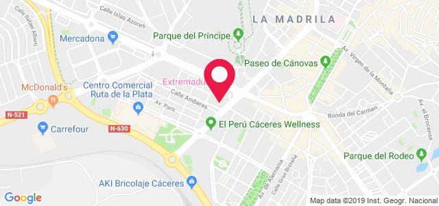 Calle Gil Cordero, 17 1ºA (Clínica Europa), 10001, Cáceres