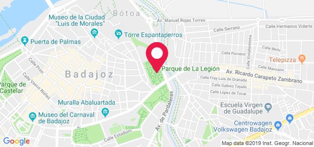 Avenida Ricardo Carapeto Zambrano, 6 (Clínicas Rehavitas), 06008, Badajoz
