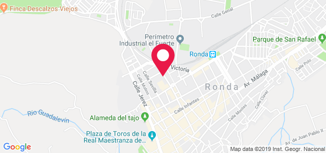 Avenida de Andalucía, 16, 29400, Ronda