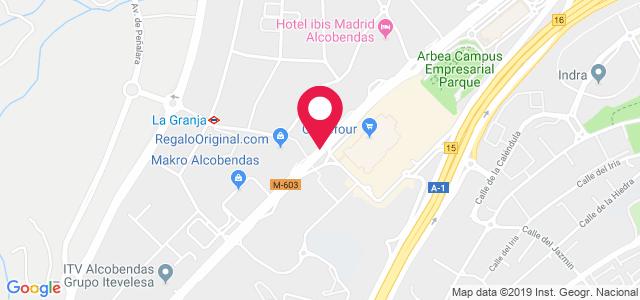 Carretera de Burgos A1, Km 14,500, 28180, Alcobendas