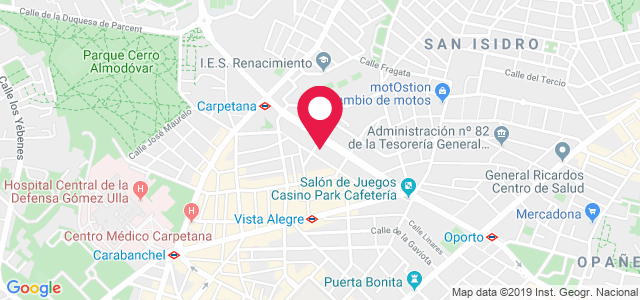 Calle Algaba, 24, 28019, Madrid