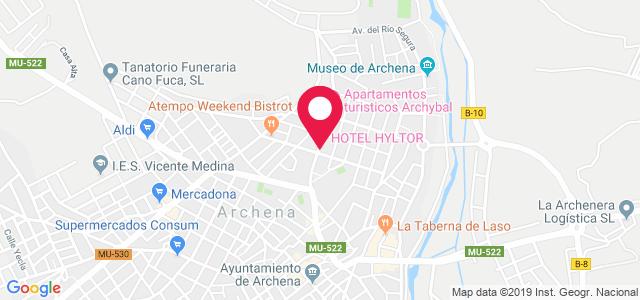 Carretera del Balneario, 12-14, 30600, Archena