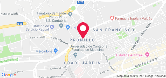 Grupo Santiago Mayor Pronillo, 7, 39012, Santander