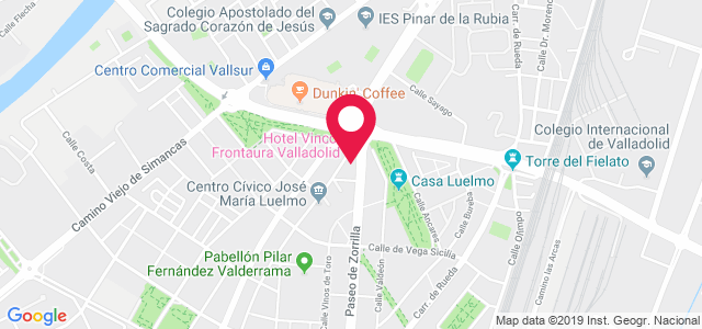 Pso. Zorrilla, 332 - 334, 47008, Valladolid
