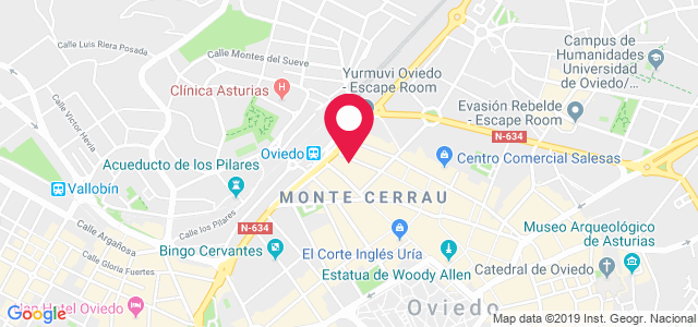 Calle Campoamor, 27, 33001, Oviedo